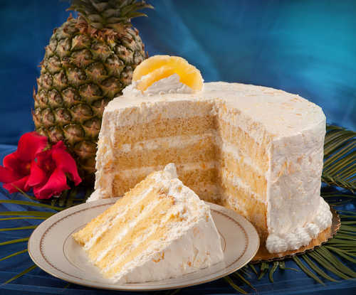 Fresh Pineapple Cake