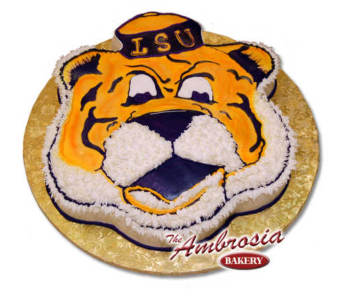 Tiger Head Cut-Out