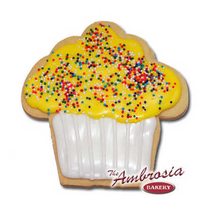 Cupcake Cut-Out Cookie