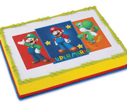 Mario Bros. - Edible Image®