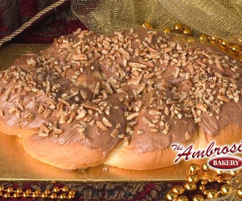 Pecan Praline King Cake