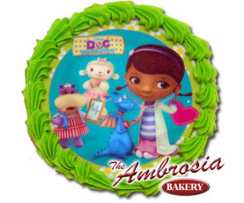 Decorated Disney - Doc McStuffins Edible Image® Cookie