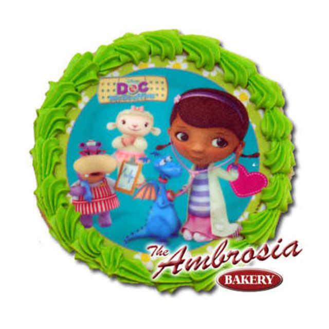 Decorated Disney - Doc McStuffins Edible Image® Cookie