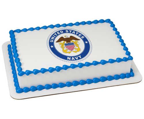 United States Navy PhotoCake® Image