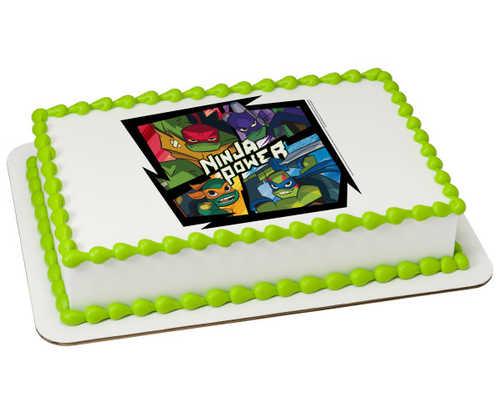 Teenage Mutant Ninja Turtles™ Ninja Power PhotoCake® Edible Image®