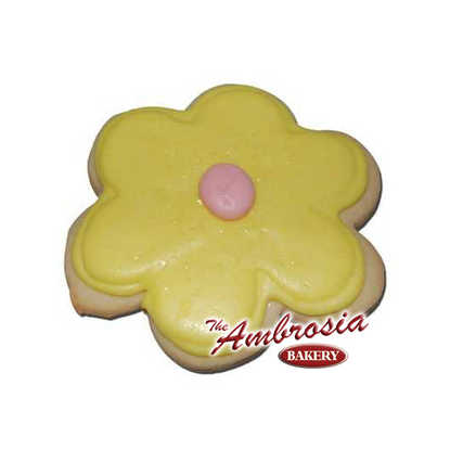 Puff Flower Cut-Out Cookie