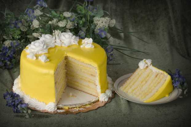 Doberge Cake - Lemon