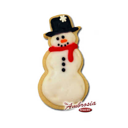 Snowman Cut-Out Cookie