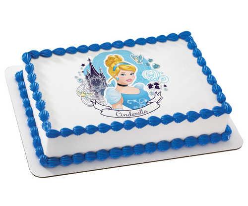 Disney Princess - Cinderella Full of Dreams, PhotoCake®