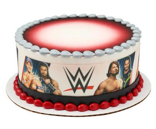 WWE Superstars PhotoCake® Image Strips