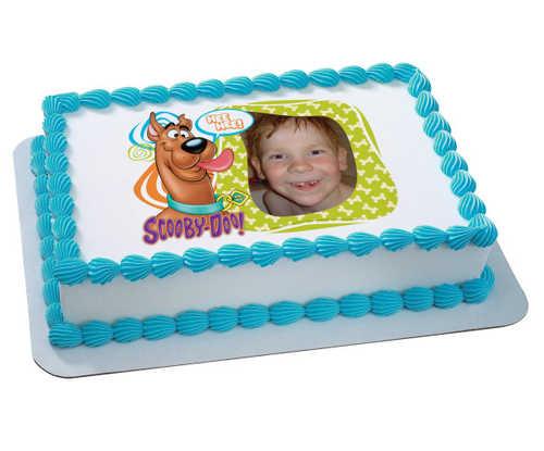 Scooby-Doo!™ Photobomb! PhotoCake® Edible Image® Frame