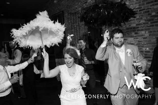 Bride and Groom Umbrella