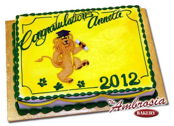Dancing Lion Cake