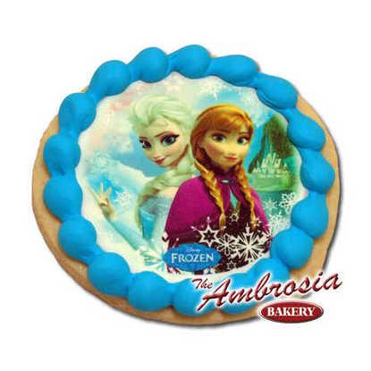 Disney Frozen - Sisters, Edible Image® Cookie