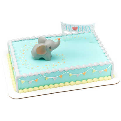 OH BABY ELEPHANT Baby Shower Cake