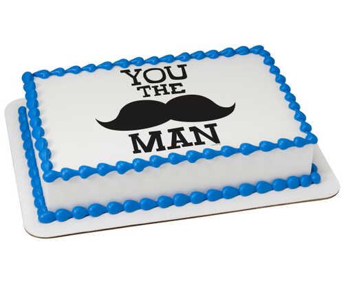 You the Man PhotoCake® Edible Image®