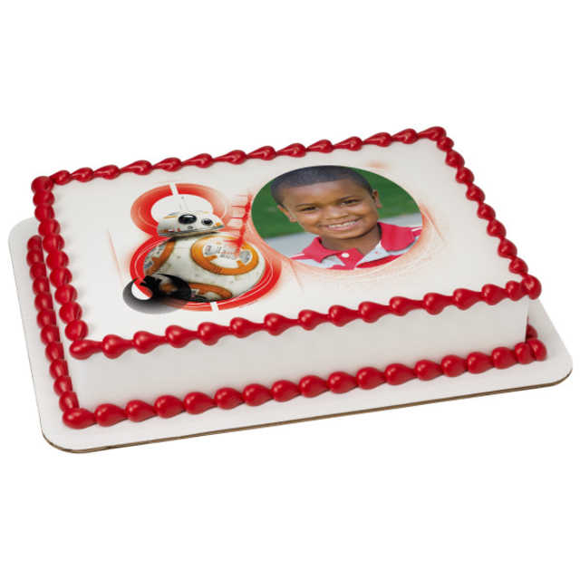 Star Wars™: The Last Jedi Roll With It PhotoCake® Edible Image® Frame