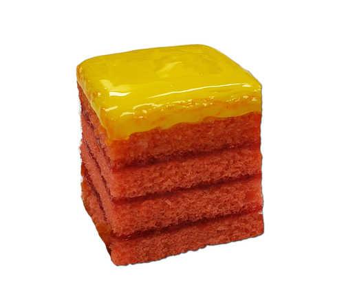 Strawberry Lemonade Doberge Squares - Strawberry Cake