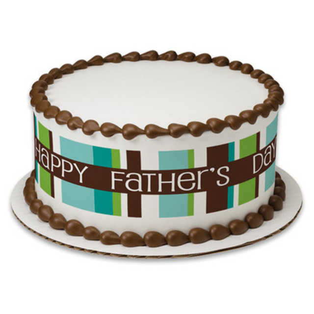 Happy Father's Day PhotoCake® Image Strips