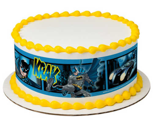 Batman Fwoosh, Krak, Wham PhotoCake® Image Strips