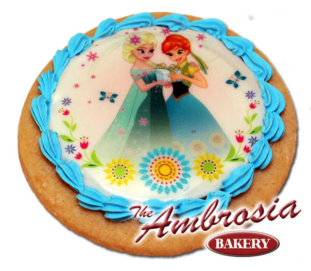 Decorated Disney FROZEN - Fever Summer Solstice, Edible Image® Cookie