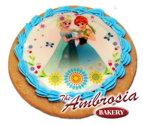 Disney FROZEN - Fever Summer Solstice, Edible Image® Cookie