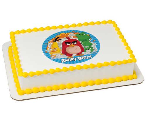 Angry Birds Boom! Edible Image PhotoCake®