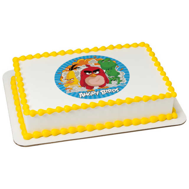 Angry Birds Boom! Edible Image PhotoCake®