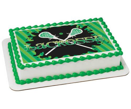 Lacrosse PhotoCake® Edible Image®