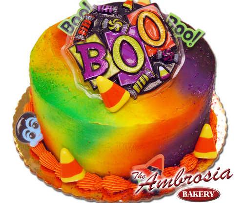 """Halloween """"BOO"""" Pop Top"""