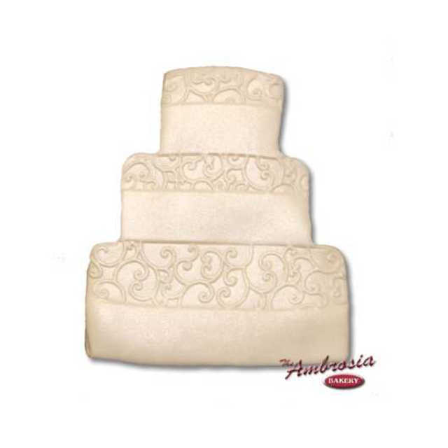 Wedding Cake Cut-Out Cookie #1