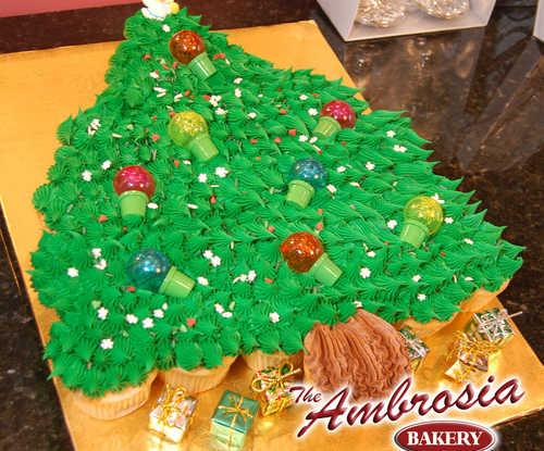 Christmas Tree - Cupcakes, 24 Cupcakes