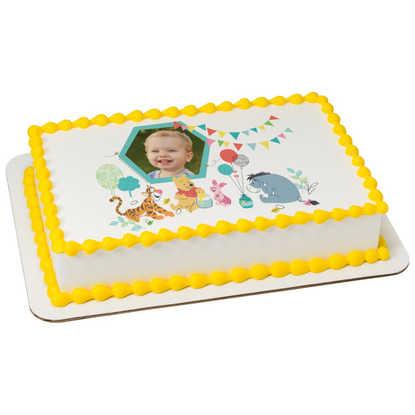 Disney Baby Baby Pooh 1st Birthday PhotoCake® Frame PhotoCake® Frame