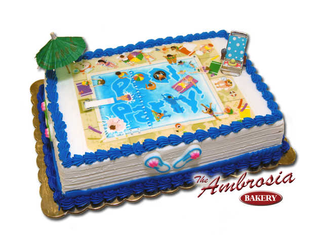 Swimming Pool Edible Image®