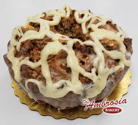 Cinnamon Pecan & Cream Cheese Pound Cake