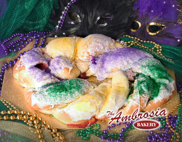 Filled King Cake
