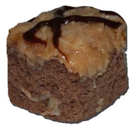 Cake Squares - German Chocolate