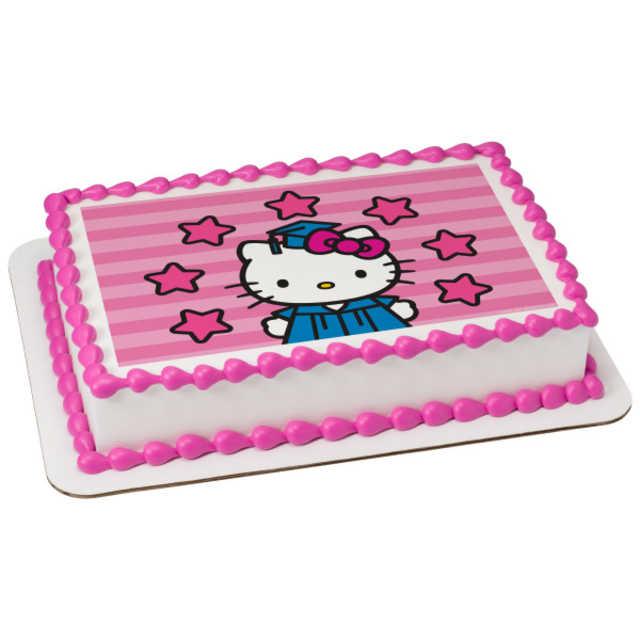 Hello Kitty® Shine Bright PhotoCake® Edible Image®