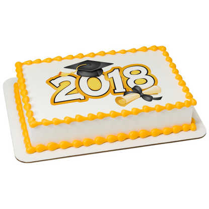 Traditional Grad 2018 PhotoCake® Image