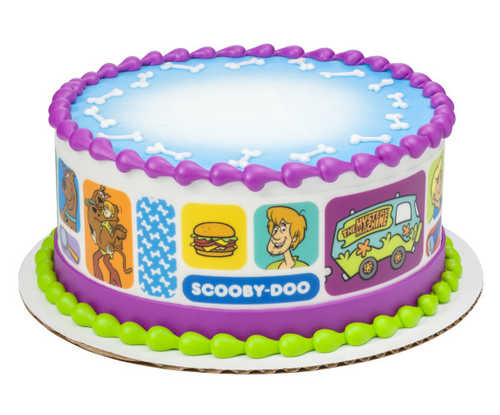 Scooby-Doo - Where Are You - PhotoCake® Image Strips