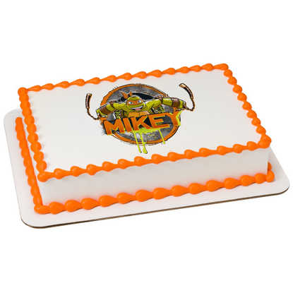 Teenage Mutant Ninja Turtles Michelangelo PhotoCake® Image