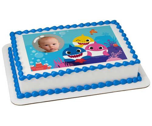 Baby Shark Sharktastic! PhotoCake® Edible Image® Frame