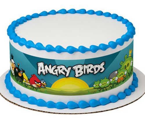 """Angry Birds Make """"Way for the Angry"""" - PhotoCake® Image Strips"""