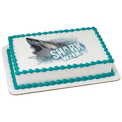 Discovery Shark Attack PhotoCake® Image