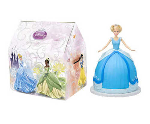 Disney Princess Cinderella Doll Cake