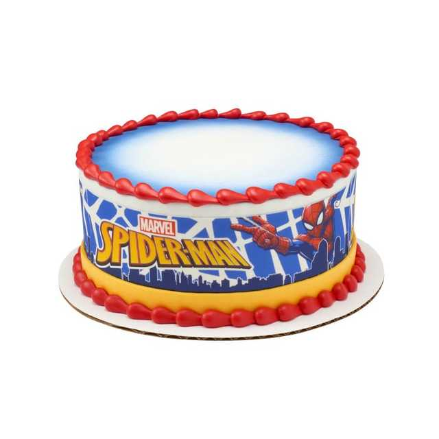 MARVEL Spider-Man™ In Action PhotoCake® Edible Image® Strips