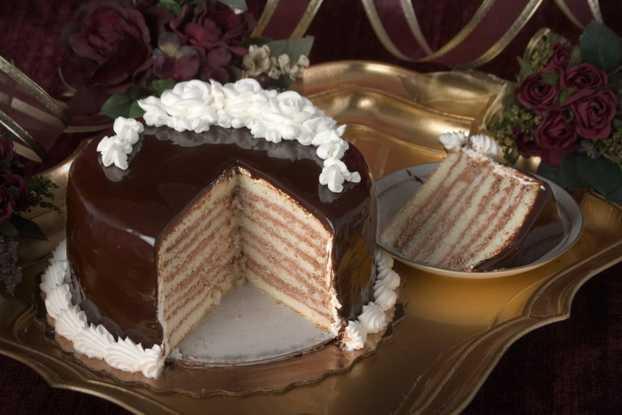Doberge Cake - Chocolate