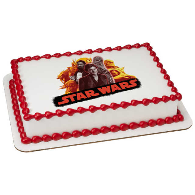 Solo: a Star Wars™ Story Scoundrels and Aliens PhotoCake® Edible Image®