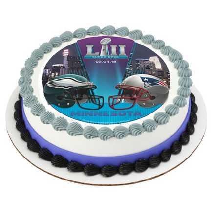 NFL Super Bowl LII Edible Image® Cake