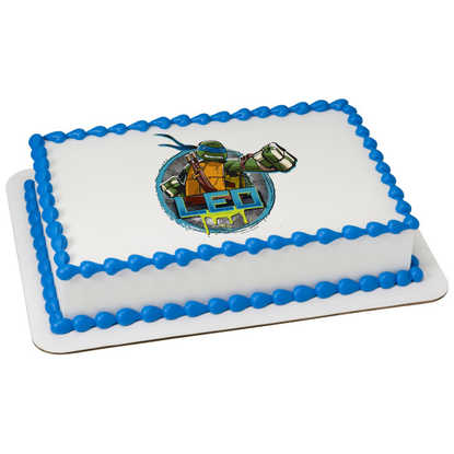 Teenage Mutant Ninja Turtles Leonardo PhotoCake® Image